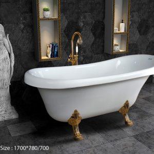 Phòng tắm oval Việt Mỹ CRV17