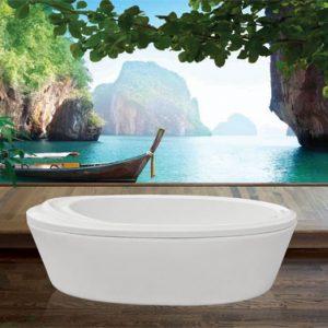 Phòng tắm oval Euroca EU0-1680