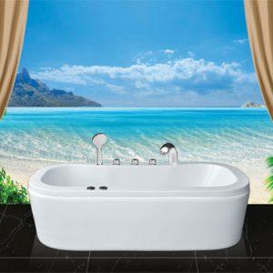 Phòng tắm oval Euroca EU0-1780