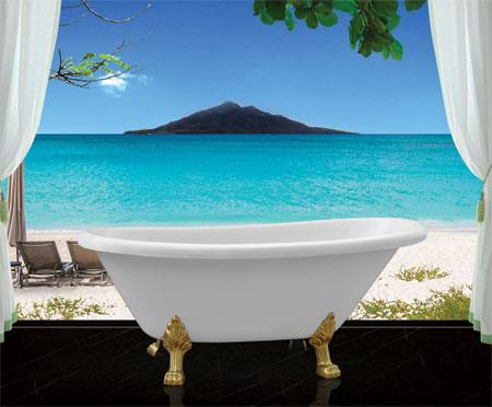 Phòng tắm oval Euroca EUO-CLASSIC