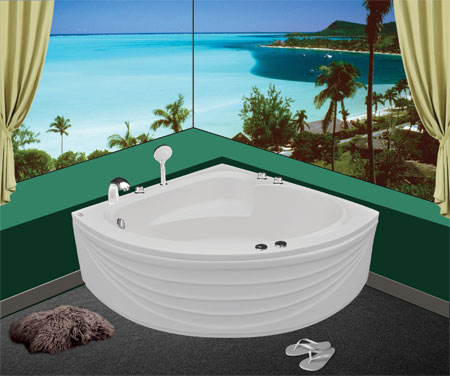 Bồn tắm góc Euroca EU1-1300