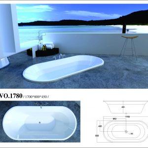 Phòng tắm oval Việt Mỹ VO1780