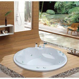 Bồn tắm tròn Milano M0140 (2)