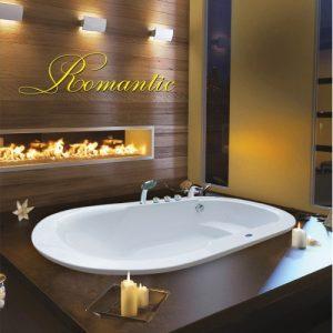 Bồn tắm oval Milano M0180 (2)