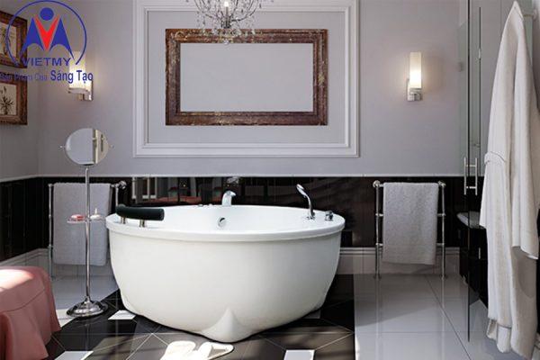 Phòng tắm tròn Việt Mỹ 16T