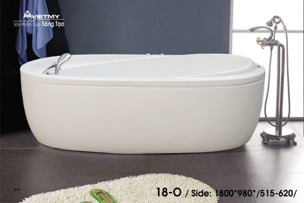 Phòng tắm oval Việt Mỹ 18O